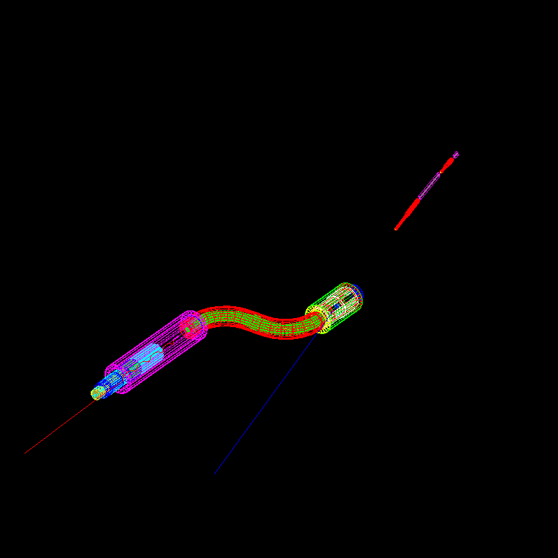 Geant4 simulation of the mu2e beamline